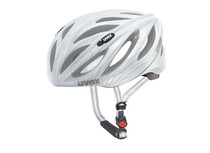 Uvex boss race carbon look white
